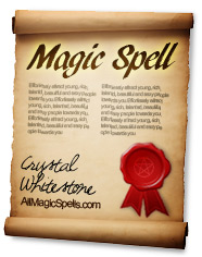 magic spell scroll